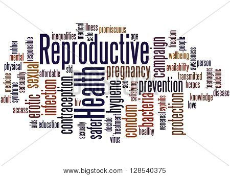 Reproductive Health, Word Cloud Concept 8