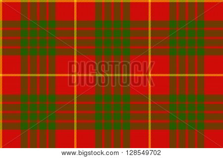 clan cameron tartan seamless background .Vector illustration. EPS 10. No transparency. No gradients.