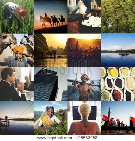 Agriculture Career Community Conservation Life Concept