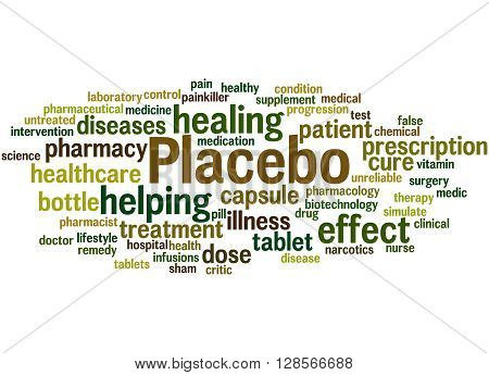 Placebo, Word Cloud Concept