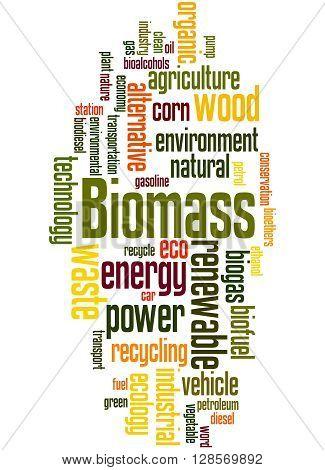 Biomass, Word Cloud Concept 8