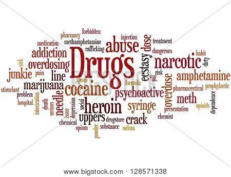 Drugs, Word Cloud Concept 6