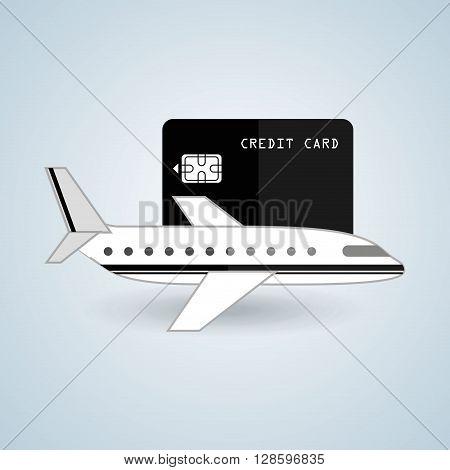 travel expenses design, vector illustration eps10 graphic