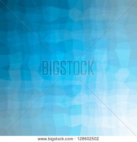 blue geometric pattern background abstract vector texture for web and design
