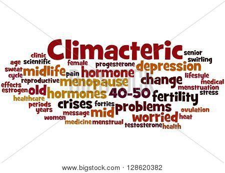 Climacteric, Word Cloud Concept