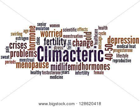Climacteric, Word Cloud Concept 4