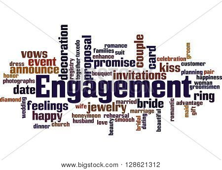 Engagement, Word Cloud Concept 3