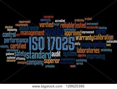 Iso 17025, Word Cloud Concept 8