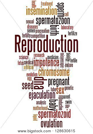 Reproduction, Word Cloud Concept 3