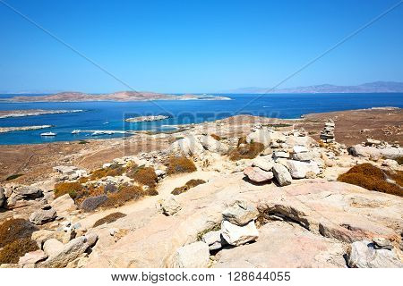 Famous   In Delos Greece   Old Ruin Site