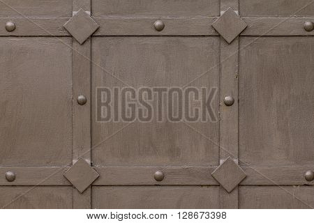 View individual wrought- iron gate elements (brown)