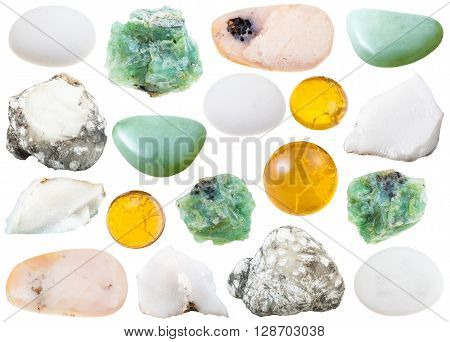 Set Of Various Opal Natural Gemstone