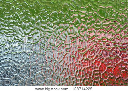 Colours behind opaque privacy glass widow textures