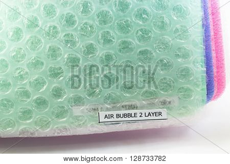 Closed up Shockproof material Polyethelene foam Air bubble