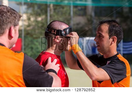 2Nd Ibsa Euro Challenge Cup And Thessaloniki International Blind Football Tournament
