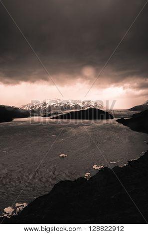 Glaciar Grey, Lago Grey, Torres del Paine National Park, Chile