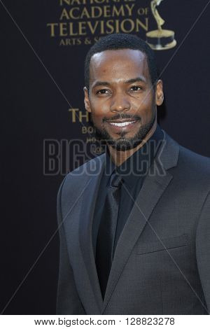 LOS ANGELES - APR 29: Anthony Montgomery at The 43rd Daytime Creative Arts Emmy Awards Gala at the Westin Bonaventure Hotel on April 29, 2016 in Los Angeles, California