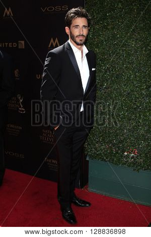 LOS ANGELES - May 1: Brandon Beemer at The 43rd Daytime Emmy Awards Gala at the Westin Bonaventure Hotel on May 1, 2016 in Los Angeles, California