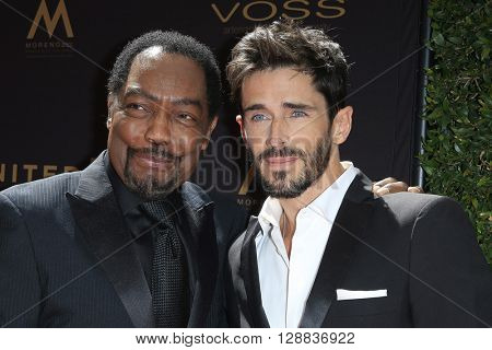 LOS ANGELES - May 1: James Reynolds, Brandon Beemer at The 43rd Daytime Emmy Awards Gala at the Westin Bonaventure Hotel on May 1, 2016 in Los Angeles, California