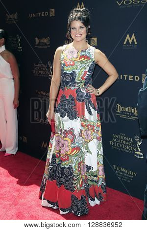 LOS ANGELES - May 1: Heather Tom at The 43rd Daytime Emmy Awards Gala at the Westin Bonaventure Hotel on May 1, 2016 in Los Angeles, California