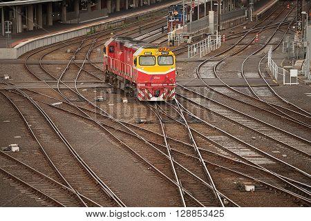 Flinders Street Railway Station Melbourne