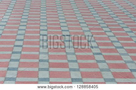 Background from street sett block, walkway, textural
