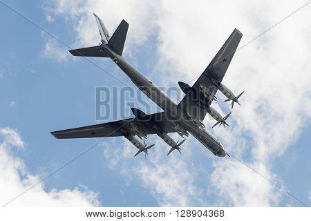 Soviet Strategic Bomber Tupolev Tu-95
