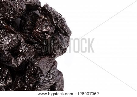 Dried Plum - Prunes Isolated