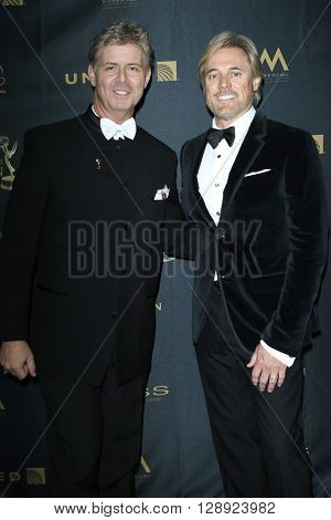LOS ANGELES - May 1: Harlan Boll, Doug Brown at The 43rd Daytime Emmy Awards Gala at the Westin Bonaventure Hotel on May 1, 2016 in Los Angeles, California