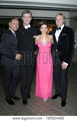 LOS ANGELES - May 1: Harlan Boll, Renee Marino, Doug Brown at The 43rd Daytime Emmy Awards Gala at the Westin Bonaventure Hotel on May 1, 2016 in Los Angeles, California