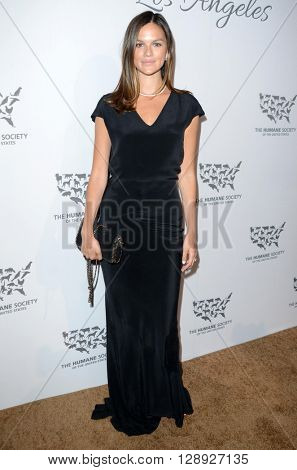 LOS ANGELES - MAY 7:  Allie Rizzo at the Humane Society Of The United States LA Gala at the Paramount Studios on May 7, 2016 in Los Angeles, CA