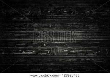 Black pallet wood background, Texture of black pallet wood