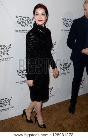 LOS ANGELES - MAY 7:  Priscilla Presley at the Humane Society Of The United States LA Gala at the Paramount Studios on May 7, 2016 in Los Angeles, CA