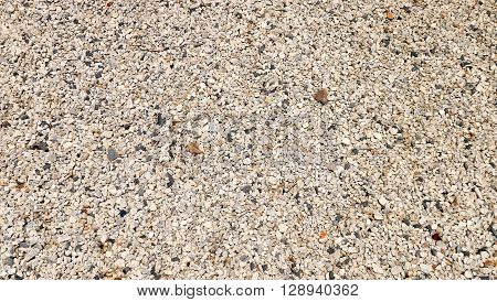 small stone alphalt texture background black granite gravel in the road
