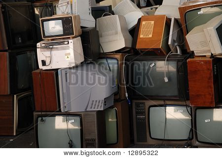 Computer And Tv Dump