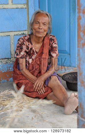 Barefoot Woman