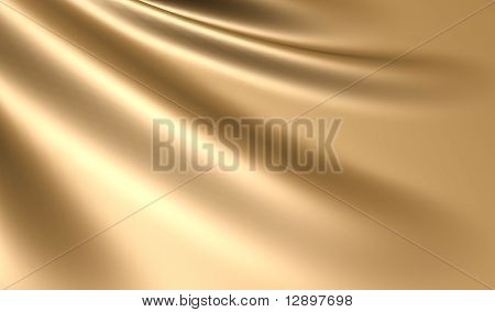 Elegant gold silk satin background