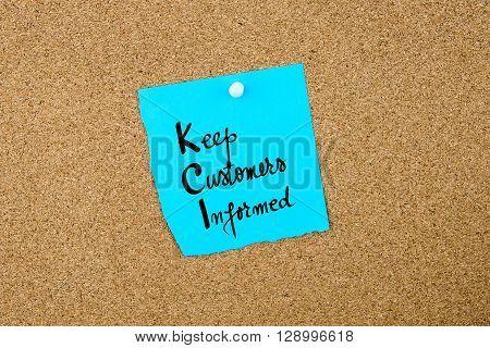 Business Acronym  Kci Keep Customers Informed