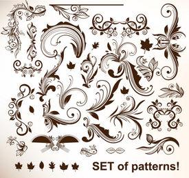 Conjunto de padrões de vetores para o projeto.