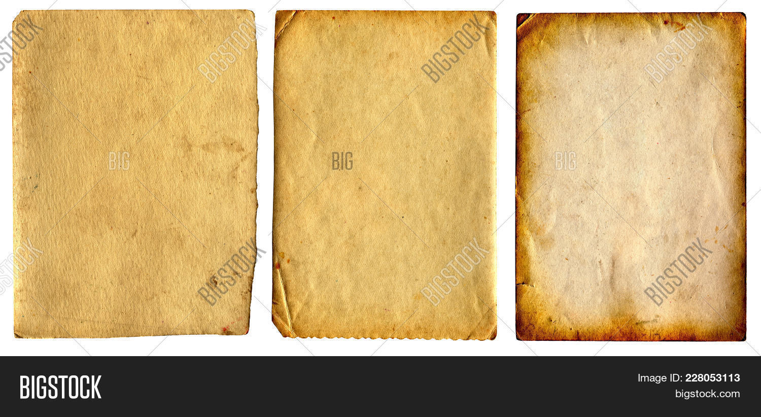 Three Old And Vintage Powerpoint Template Three Old And Vintage