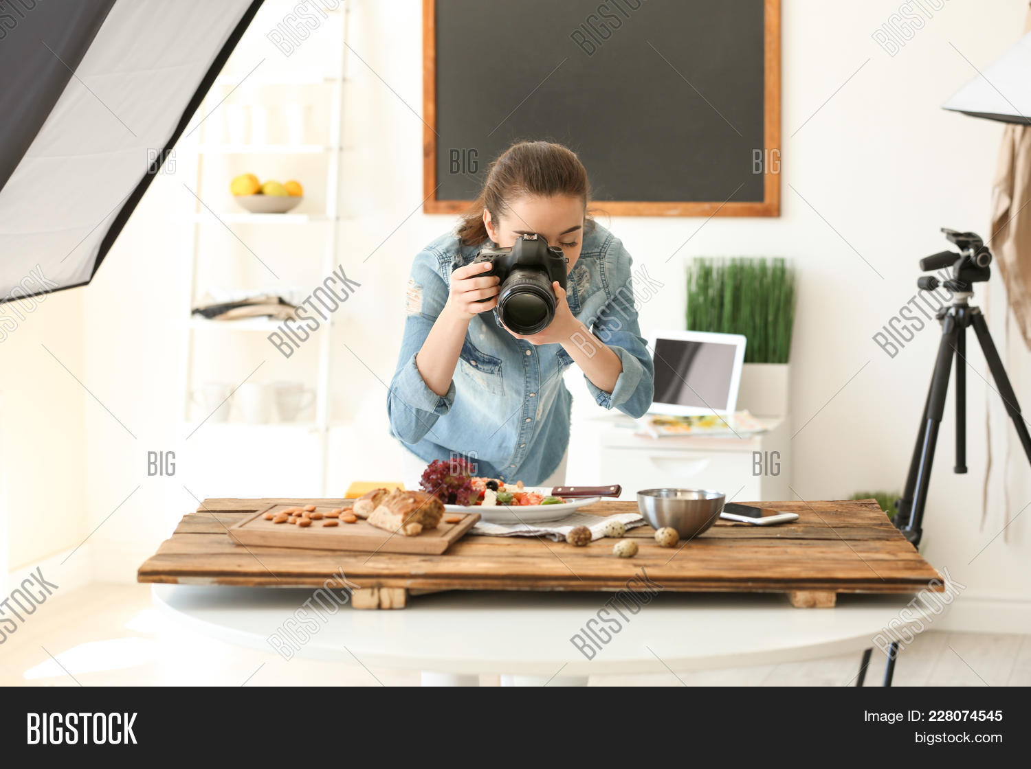 Professional young woman camera powerpoint template professional professional powerpoint template 60 slides toneelgroepblik Images