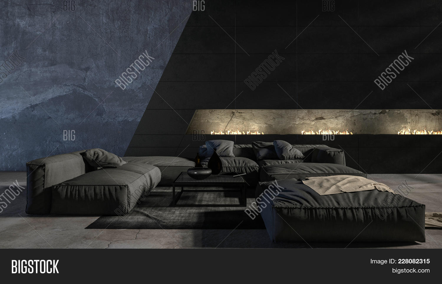 Dark Modern Luxury Image Photo Free Trial Bigstock