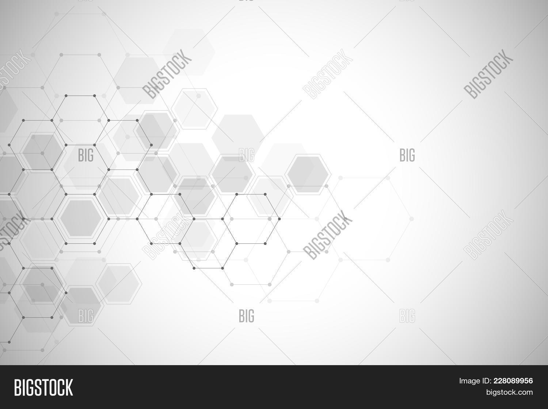 Hexagon Geometric Abstract Powerpoint Template Hexagon Geometric