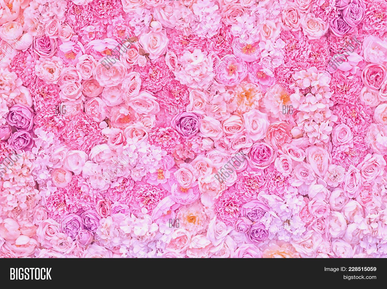 flowers pink pastel powerpoint template flowers pink pastel