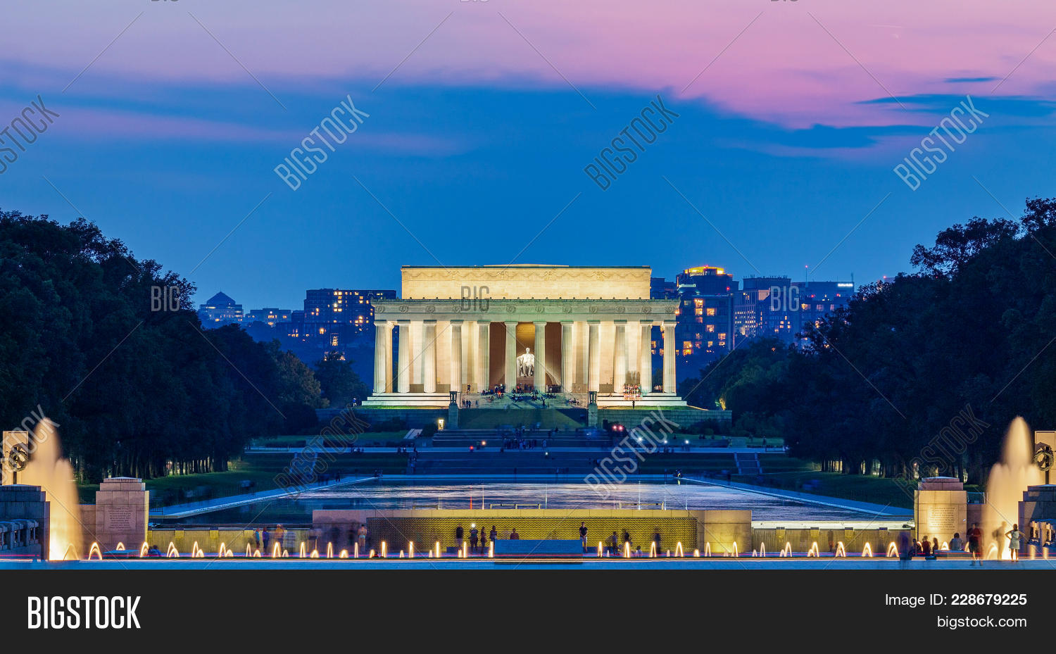 lincoln memorial powerpoint background powerpoint template lincoln