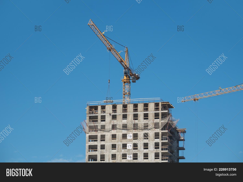Architecture Lot Construction Site Powerpoint Template