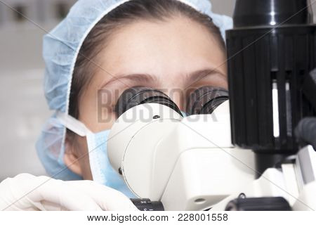 At The Microscope
