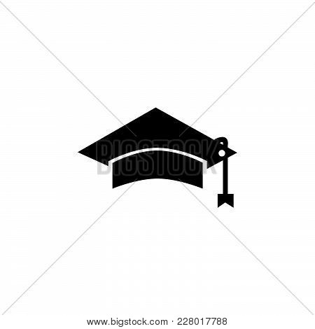 Student Icon Isolated On White Background. Student Icon Modern Symbol For Graphic And Web Design. St