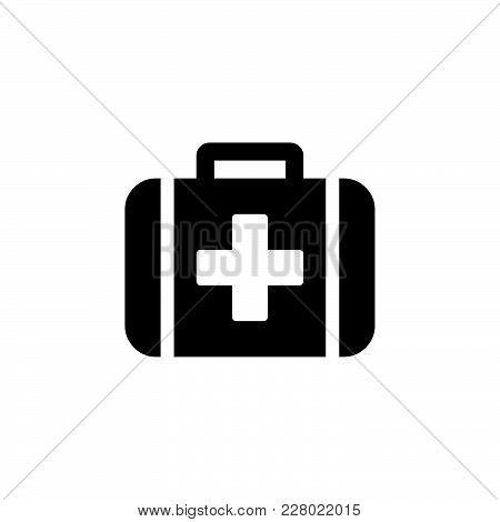 First Aid Icon Isolated On White Background. First Aid Icon Modern Symbol For Graphic And Web Design