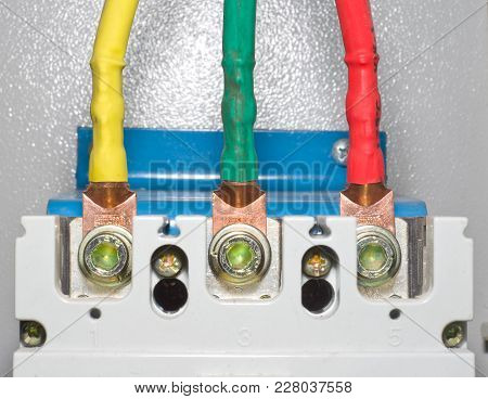Power Contacts Of Automatic Block Electrical Circuit Breaker